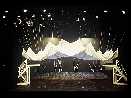 """Jaroslav Malina designed this set for a 1985 production of """"A Midsummer Night's Dream."""""""