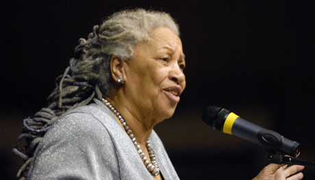 Nobel Prize winner Toni Morrison talked about the need to broaden the war against cultivated ignorance fought daily by universities.