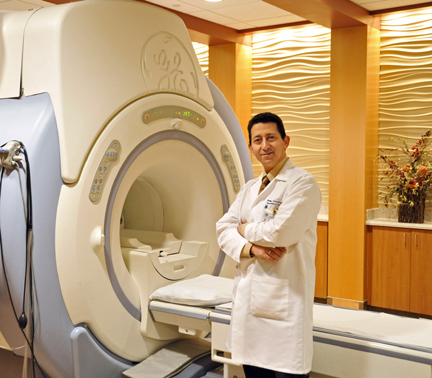 Dr. Haitham Elsamaloty and UT Medical Center's 3T MRI