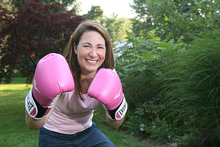 Esther Fabian, director of health-care marketing at UT Medical Center, fought breast cancer and won.