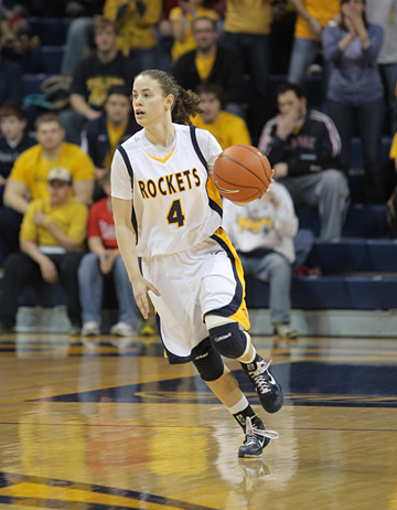 Naama Shafir scored 22 points in the WNIT quarterfinal fame in Savage Arena.
