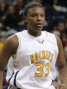 Yolanda Richardson scored 20 points to pace the Rockets.
