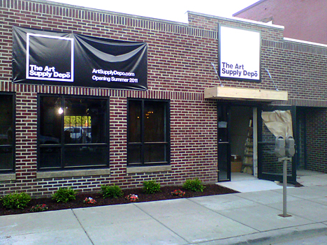The Art Supply Depō is located at 29 S. St. Clair Street in downtown Toledo.
