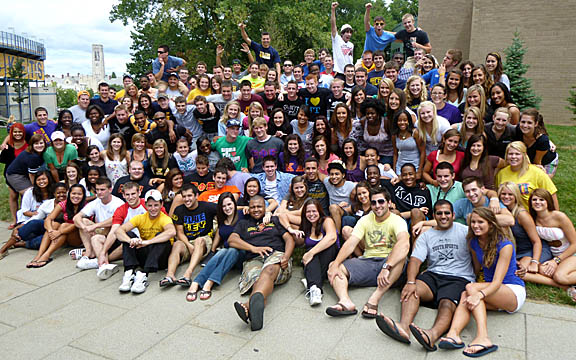 The UT Student Wellness At Toledo (SWAT) Team is the largest collegiate peer education team in the country.