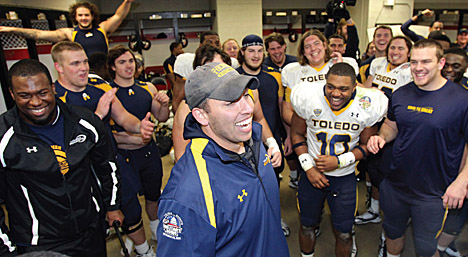 Football Coach Matt Campbell and the Rockets