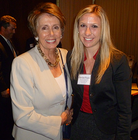 http://utnews.utoledo.edu/wp-content/uploads/2012/10/Carolyn-Payne-and-Nancy-Pelosi.jpg