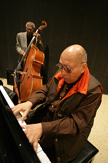 Pianist Claude Black was a member of The Murphys with bassist Clifford Murphy. The duo played at a Black History Month kickoff event on campus in 2007.