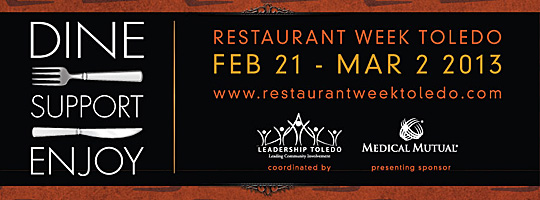 Restaurant Week header