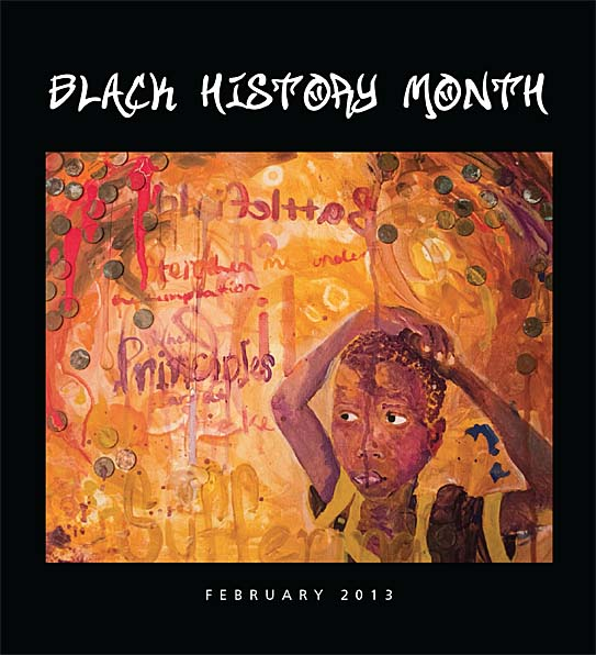 black history month art 2013