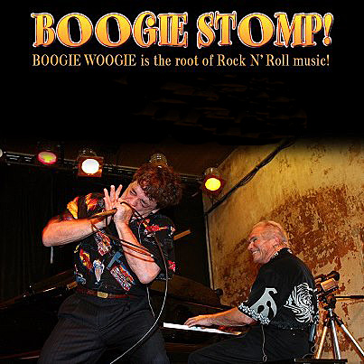 "Musicians Bob Baldori and Bob Seeley, at piano, are profiled in the documentary ""Boogie Stomp!"" The film was featured at the Carmel Art and Film Festival last year."