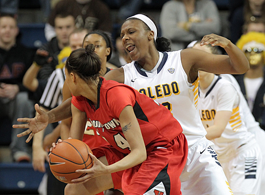 Yolanda Richardson and the Rockets have been playing tremendous defense during the WNIT.