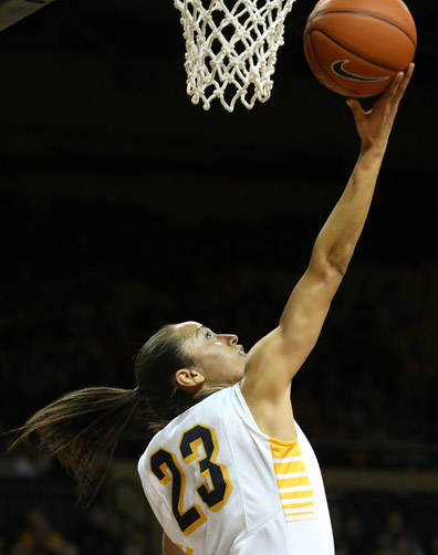 Inma Zanoguera scored 24 points to lead the Rockets to victory over Virginia, 64-62.