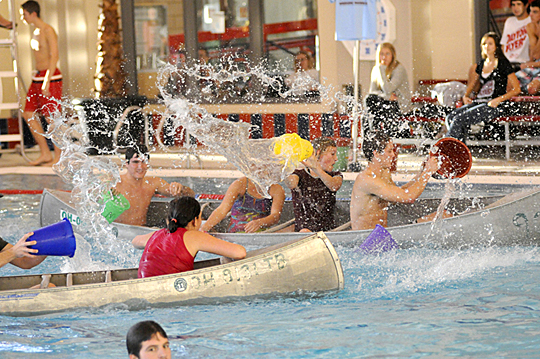 Intramural battleship is becoming a popular sport on college campuses.