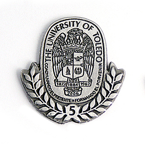 Employees celebrating anniversaries will receive pins that feature the number of years they have worked at UT.