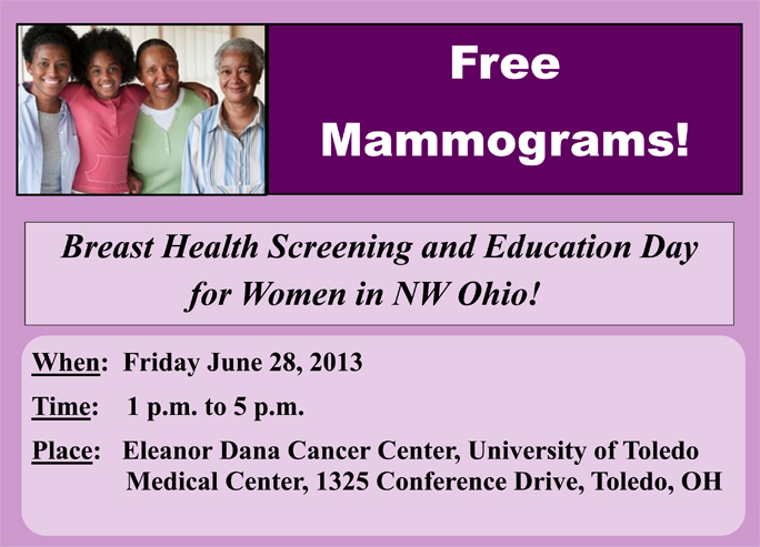 Screening Day June 28 2013 - Dana Center