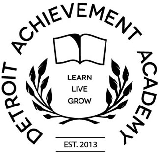 Detroit Achievement Academy logo-black