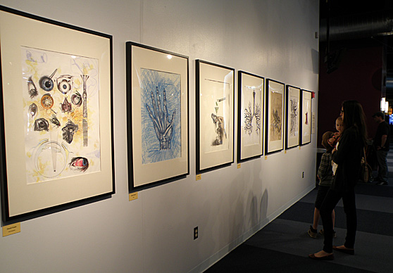"Art by UT students is on display at Imagination Station as part of the ""Grossology"" exhibit, which continues through Monday, Sept. 2."