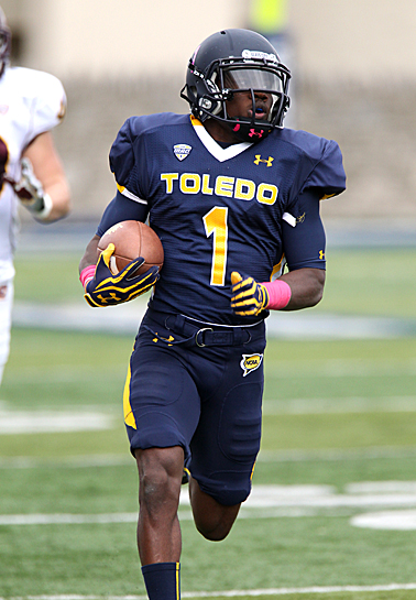 Senior wide receiver/return specialist Bernard Reedy caught 88 passes and scored four times on special teams in 2012. He is one of five All-Mid-American Conference players back for the Rockets' offense.