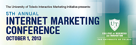 Marketing conference banner