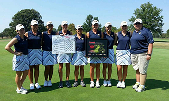Toledo set a school record for lowest 54-hole stroke total to successfully defend its Redbird Invitational title.