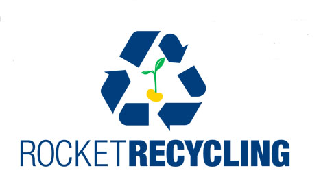 rocket recycling logo