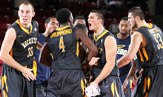 Toledo visited Chestnut Hill, Mass., and defeated Boston College, 95-92, Thursday night.