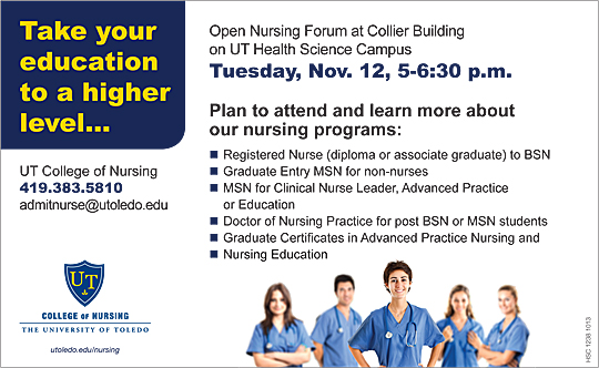 nursing flyer