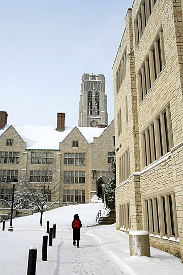 Gillham and UHall snow