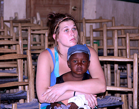 A photo taken in Haiti by Frances Bradford was second in the student category.