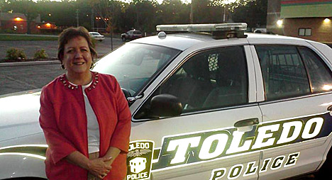 Sherry Stanfa-Stanley's ride-along with Toledo Police included a raid with the vice squad and SWAT team.