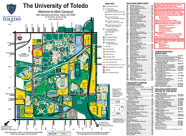UT News » Blog Archive » Parking garages to close for repairs