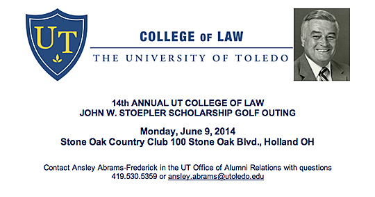 stoepler law golf outing ad