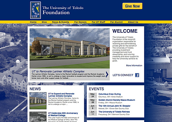 Foundation and Alumni website