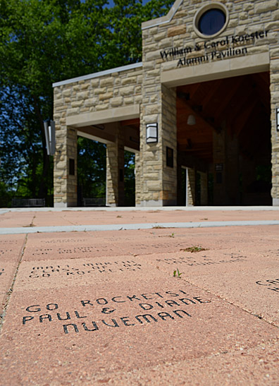 Pavers for the William and Carol Koester Alumni Pavilion are available to purchase for $150 each.