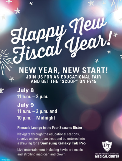 UTMC 1055 Fiscal New Year flyer