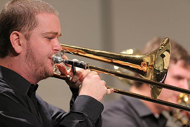 Trombonist Ben Wolke and the UT Wind Ensemble will take the stage of Doermann Theater Sunday, Sept. 28.