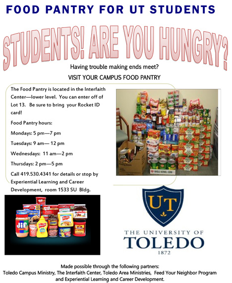 Food pantry flier