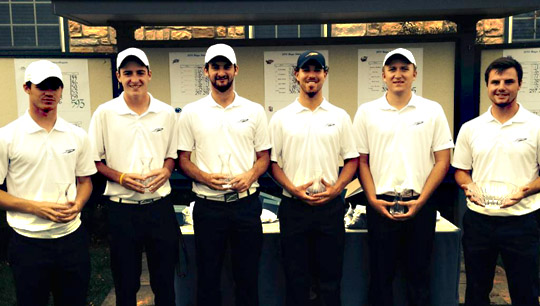 Toledo finished 14 strokes ahead of second-place finisher Seattle at the Georgetown Intercollegiate.