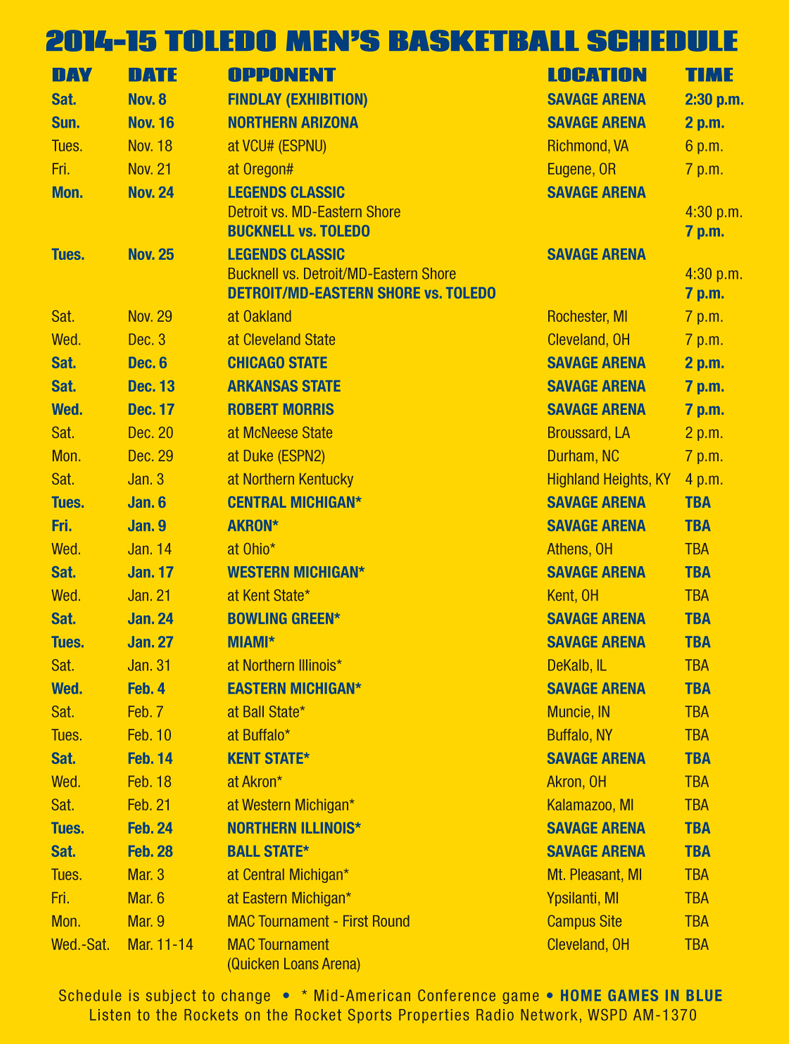 mens bball schedule card