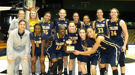 The Toledo Rockets won the Florida International University Thanksgiving Classic in Miami. UT beat Arizona, 69-54, and Virginia, 64-62.