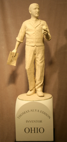 Tom Lingeman's proposed statue of Thomas Edison