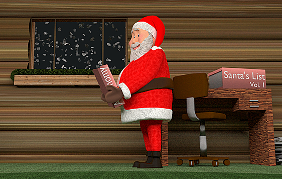 "Find out how the jolly old elf uses astronomy to plan his annual trek in the UT Fulldome Studio production of ""Santa's Secret Star."""