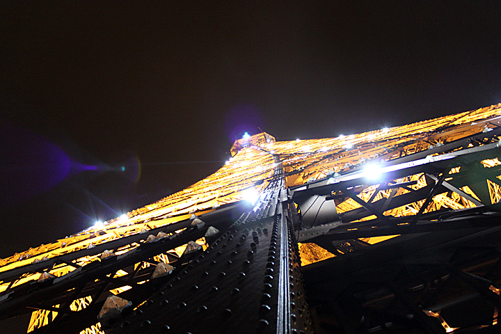 This shot of the Eiffel Tower in Paris by Ericka Bilby was second in the student category.