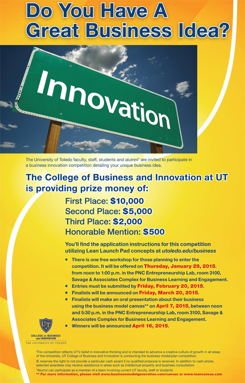 business competition poster