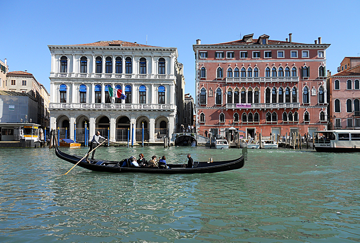 Stephanie Goller took second place in the faculty/staff category with her shot from Venice, Italy.