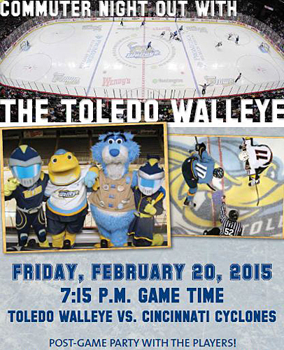 Walleye commuter night 2015
