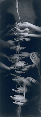 """""""In Search of Forgiveness,"""" palladium/platinum print, by Rebecca Zeiss"""
