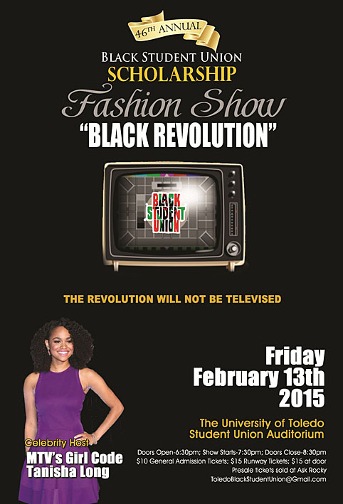 Black Student Union Fashion Show 2015