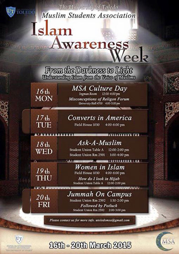Islam Awarenes Week Main Flyer