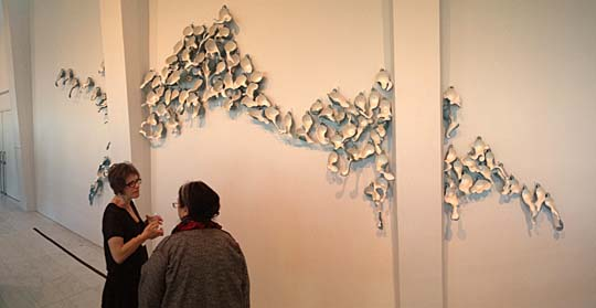 Tsehai Johnson's work was displayed at the 2014 National Council on Education for the Ceramic Arts National Conference in the Milwaukee Art Museum.